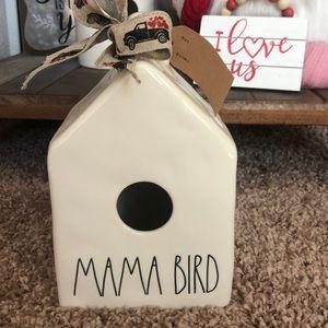 Rae Dunn bird house